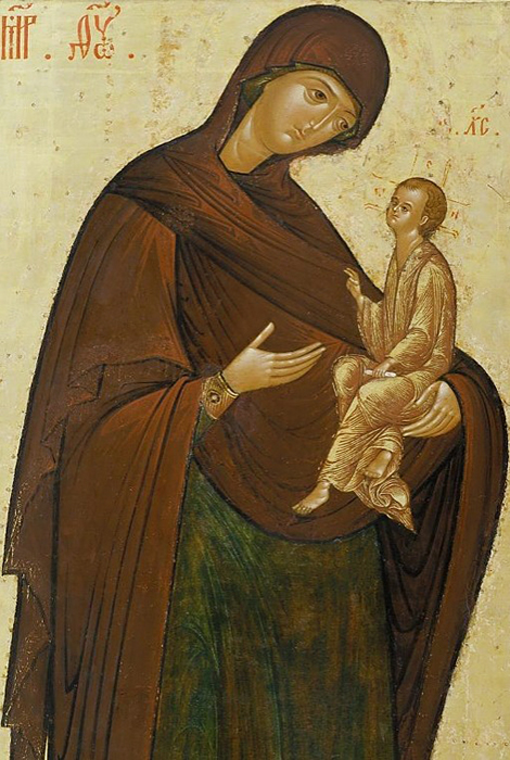 """Mother of God with the child Jesus"""